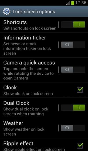 information ticker