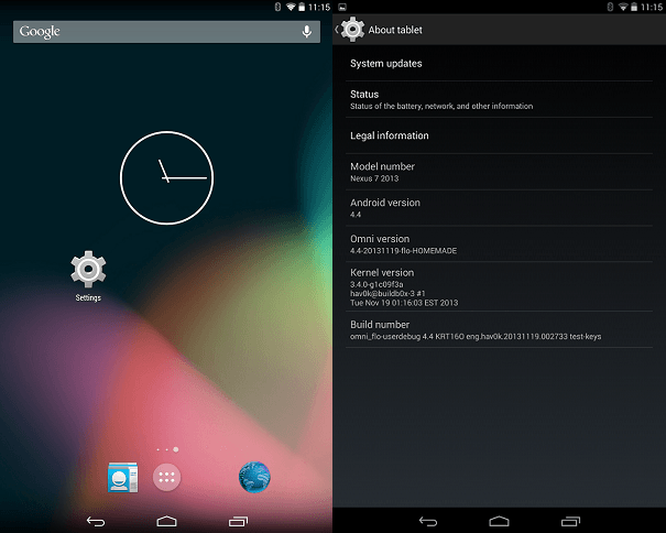 10 Best Custom ROMs For Nexus 7 to Freshen The Interface