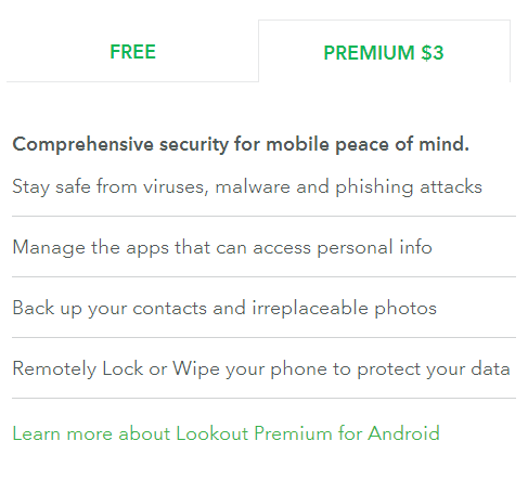 Lookout Antivirus and Security App Review (Android)