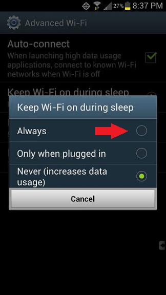 s3 wifi