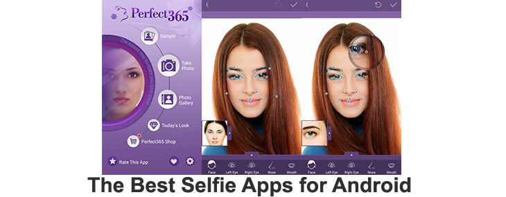 selfie apps for Android