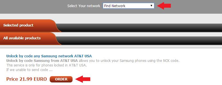 sim-unlock network