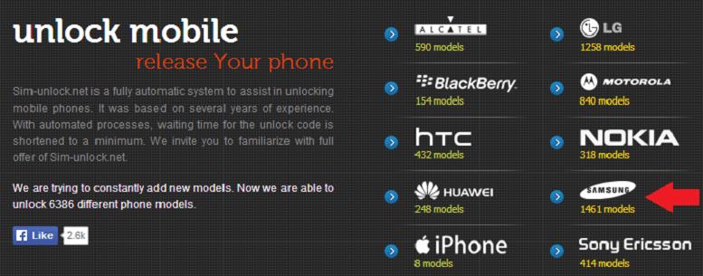 sim-unlock samsung