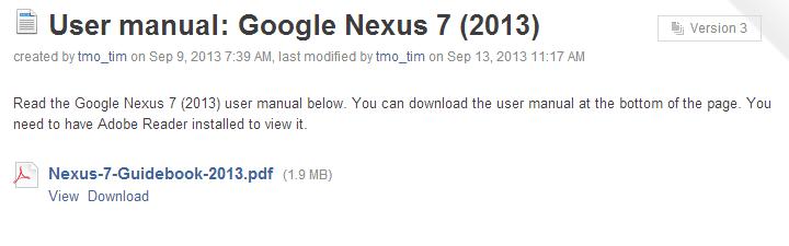 view or download nexus 7 manual