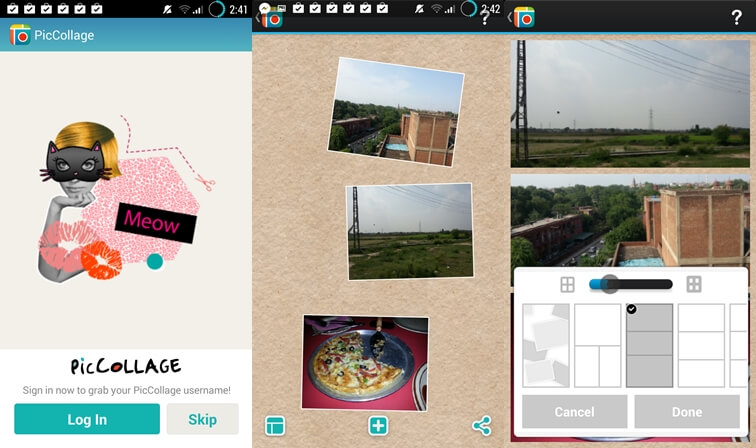Pic Collage app for Android