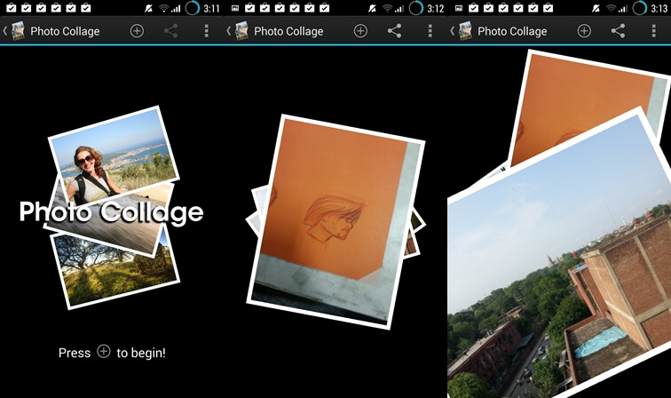 Photo Collage app for Android