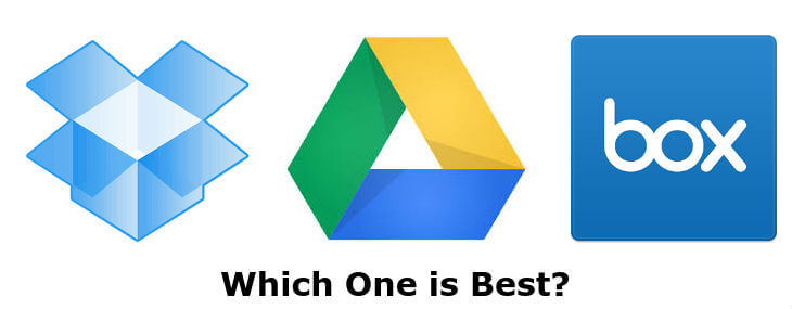 Box vs Dropbox vs Google Drive Android