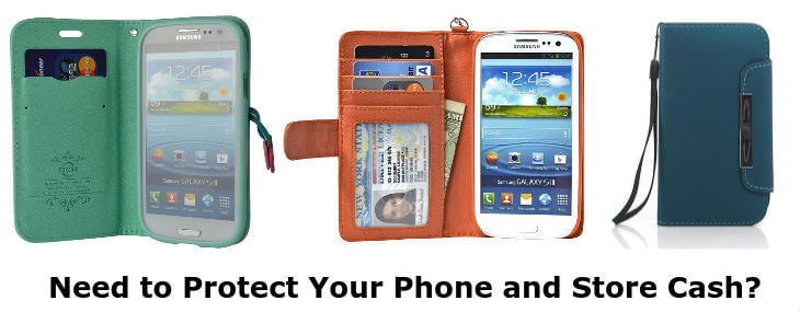 Samsung Galaxy S3 wallet cases