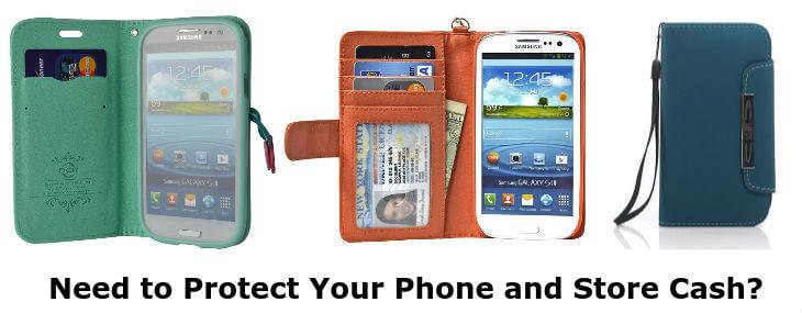 Samsung Galaxy S3 wallet cases