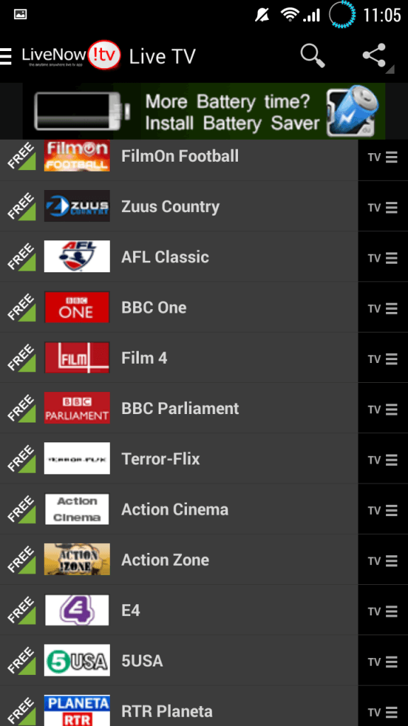 How to watch live TV on Android