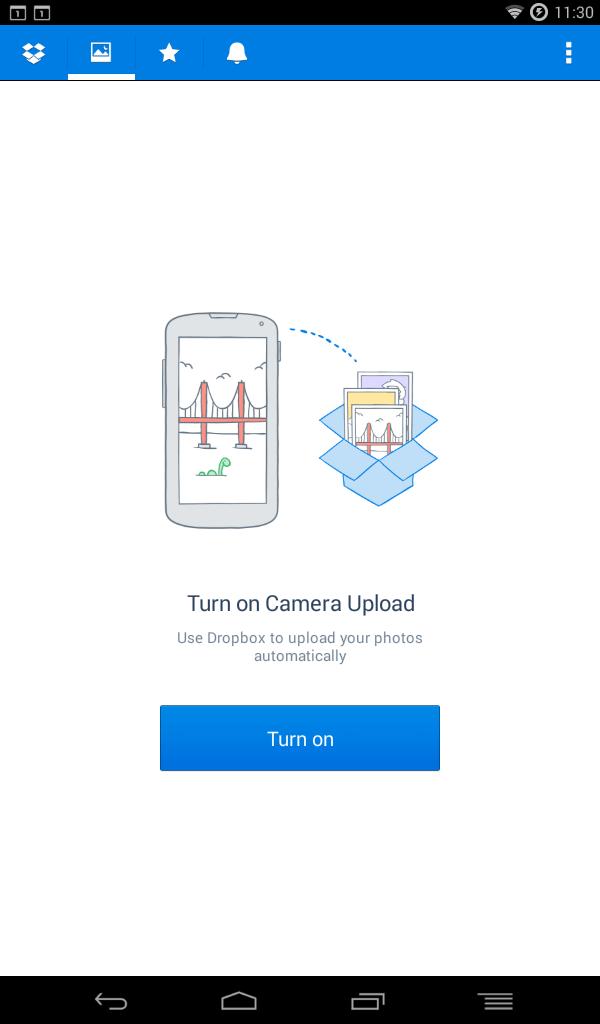 dropbox photo feature
