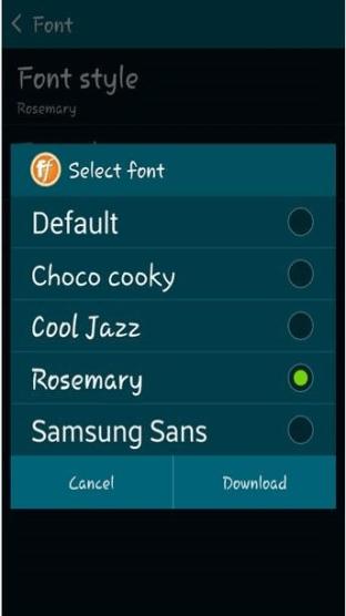 fonts s5