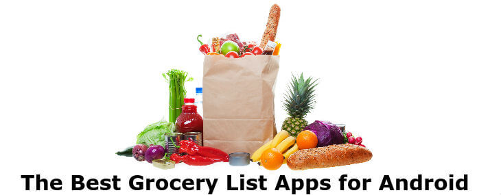 grocery list apps for Android