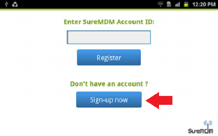 suremdm account