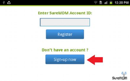 suremdm account