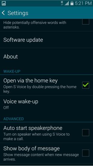 voice wakeup