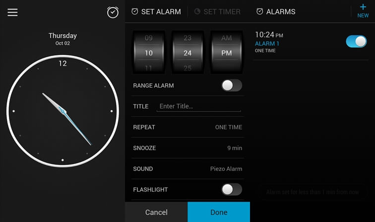 Alarm clock simple alarm clock apps for Android