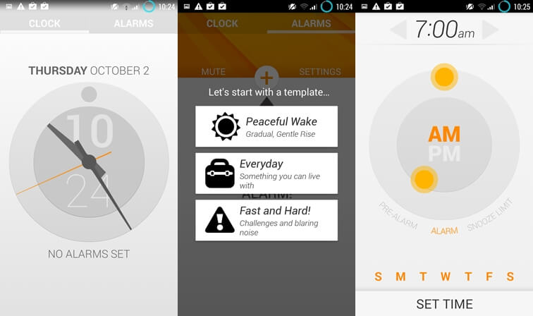 life alarm clock simple alarm clock apps for Android