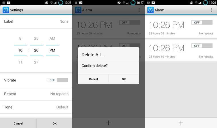 Alarm simple alarm clock apps for Android