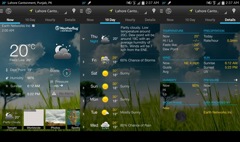 WeatherBug - Weather apps for Android