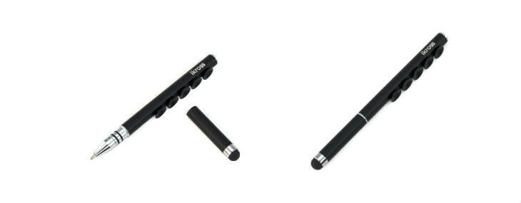 iKross Capacitive Stylus Ball Pen with Suction Cups