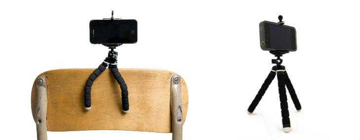 iStabilizer Flex Smartphone Flexibilný statív na nohy
