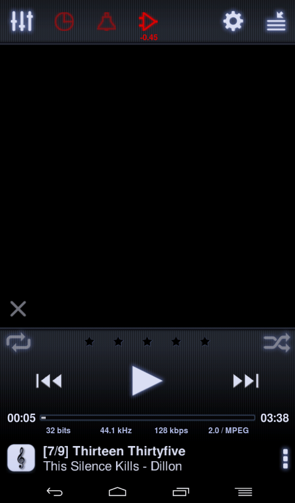 neutron playing music