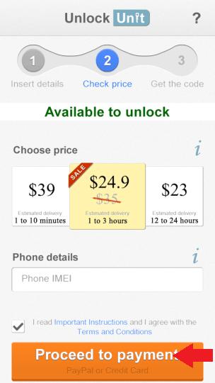 unlockunit price