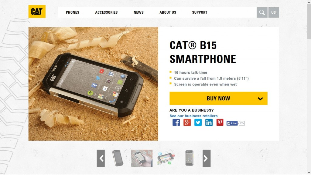 CAT B15 Smartphone - Android phones for Kids