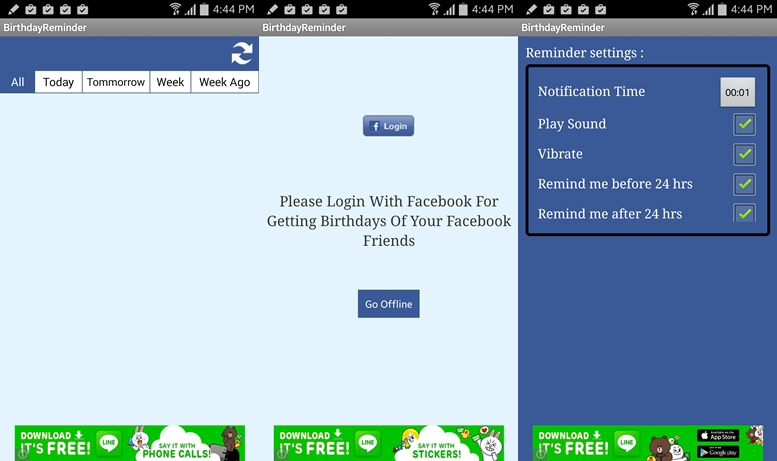 Free Birthday Reminder App ~ Best birthday reminder apps for android