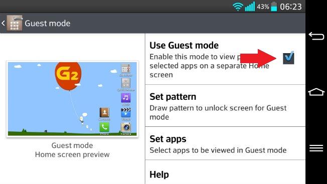How To Use Guest Mode On LG G2, G2 Mini and LG G3 Phones