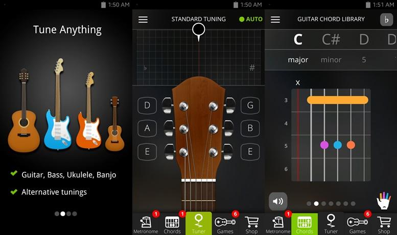 10 best guitar apps for android to strum along. Black Bedroom Furniture Sets. Home Design Ideas