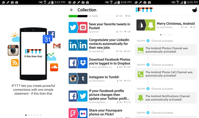 IFTTT - Productivity apps for Android