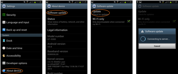Update your Galaxy S3