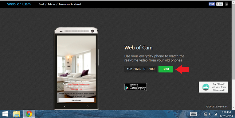 web of cam pc