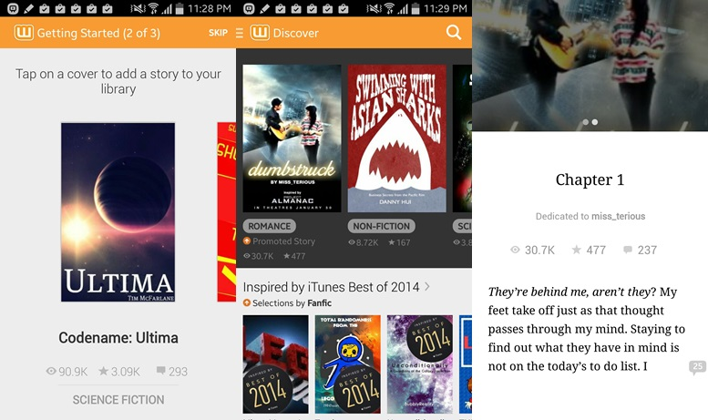 Wattpad - Free book apps for Android