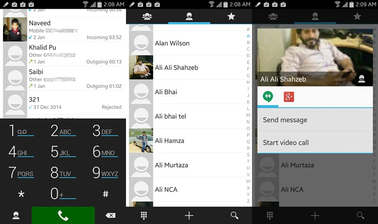 ExDialer - Android contacts apps