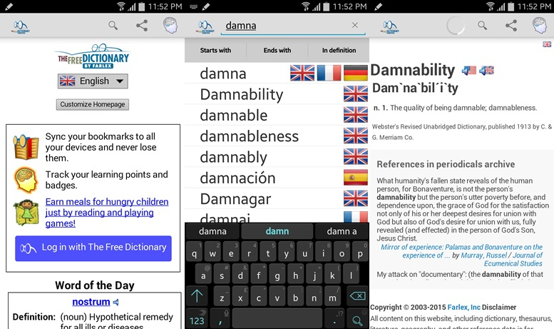 Dictionary - free dictionary apps for Android