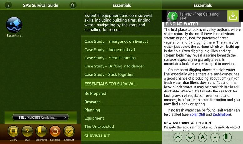 SAS Survibal Guide