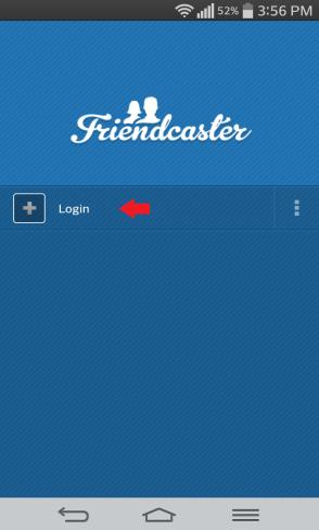 entrada FriendCaster