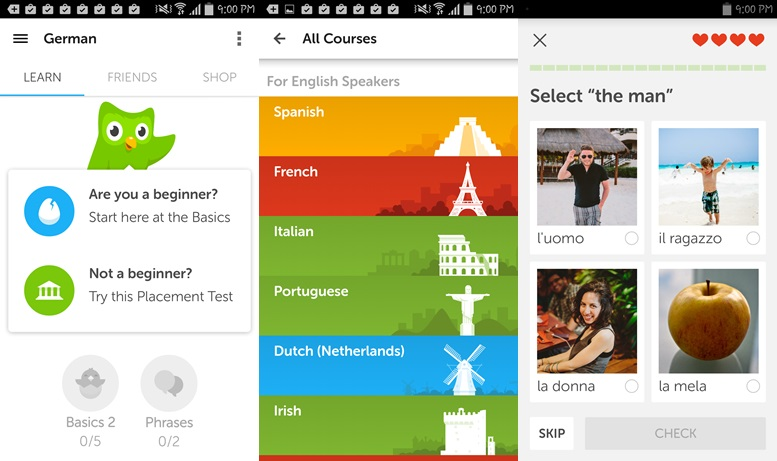 Duolingo - language learning apps for Android