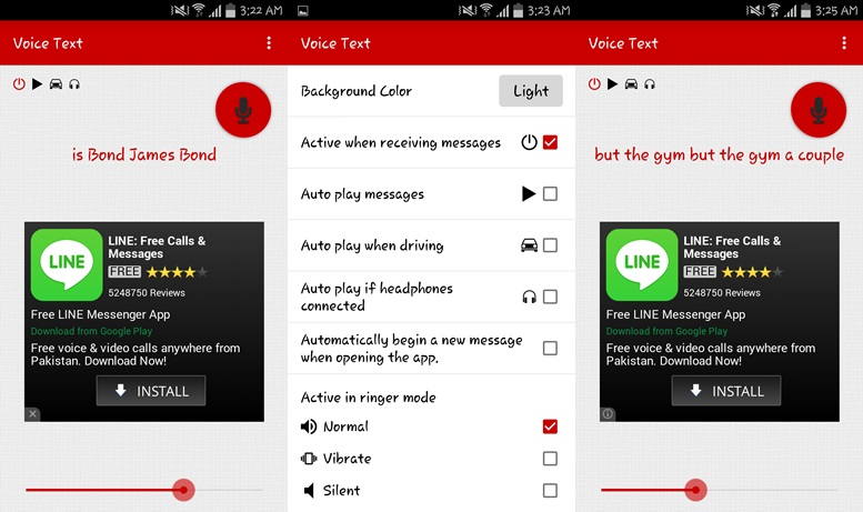Voice Text - talk to text apps for Android