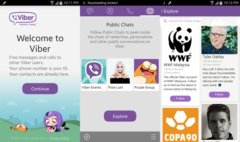 Viber - chat apps for android