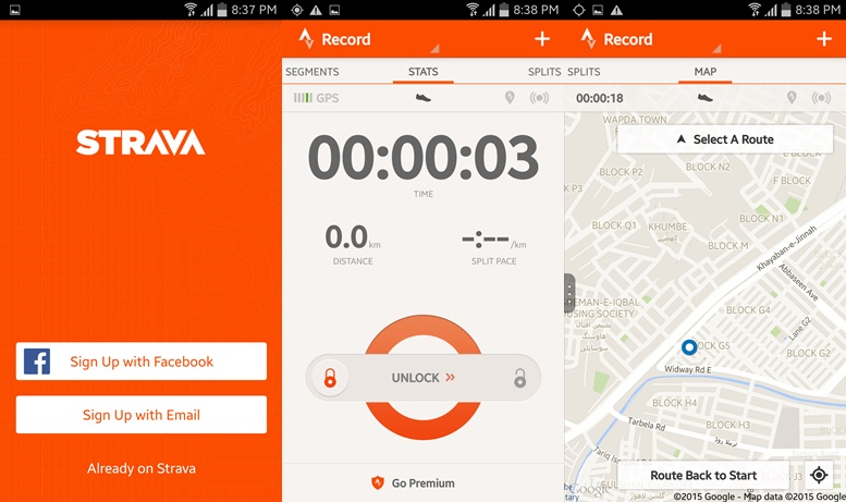 Strava - running apps for android