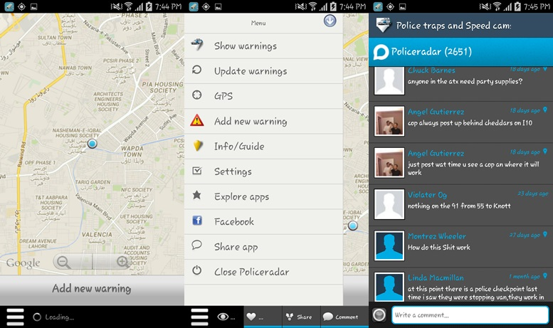 5 best radar detector apps for android to avoid the fuzz. Black Bedroom Furniture Sets. Home Design Ideas