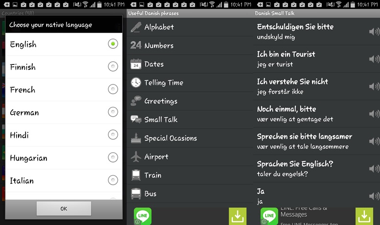 Tourist Language learning apps for Android