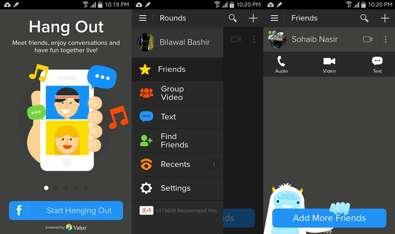 Rounds - chat apps for android