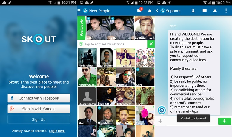 Skout free dating site