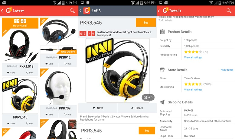 Geek Smarter Shopping apps for Android