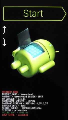 Nexus 5 recovery